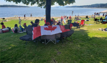 Canada Day Celebration at Transfer Beach, Ladysmith BC, Canada 2019