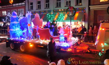 2019 Ladysmith Festival of Light – Light Up Parade