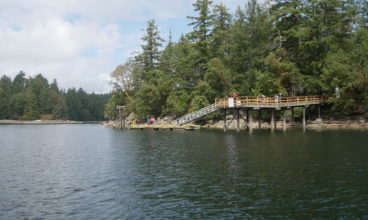 Bute Island BC tour located in Ladysmith Harbour